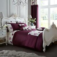 DUVET COVER Modern KOH Complete Quilt Bedding Set And Matching Curtains Cushion
