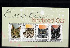 Grenadian Cats Postal Stamps