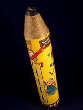 Ancien rare crayon table de multiplication boîte Pub CARAMELLE PERUGINA 1950-60