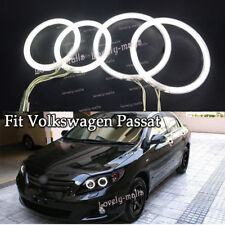 4x LED CCFL 7000K Angel Eyes kit Halo Rings For Volkswagen VW Passat B5.5 3BG