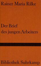 su- b RILKE : DER BRIEF DES JUNGEN ARBEITERS  b 372