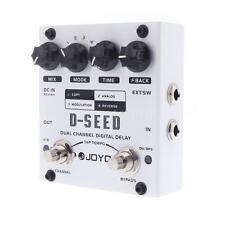 JOYO Dual Channel Digital/MOD/Analog/Reverse Delay Guitar Effect Pedal+Free Ship