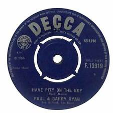 "Paul & Barry Ryan - Have Pity On The Boy - 7"" Vinyl Record"