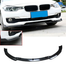 For 2013-2018 BMW F30 Base Front Bumper Lip Spoiler Splitter Carbon Fiber Style