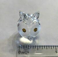 Asfour Diamond Crystal Figurine owl 40 in orignal box