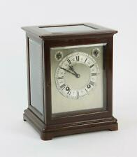 More details for antique winterhalder and hofmeier ting tang 4 glass mantle clock
