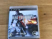 PS3 Playstation 3 Battlefield 4 BF4 Sony PSN Japan Import