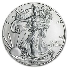 2011 American Eagle Silver Dollar Coin Brilliantly Uncirculated MintDirect