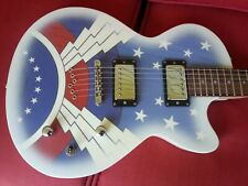 DRG Daisy Rock Candy electric GUITAR - cool Super Girl graphics - very nice!