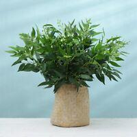 Artificial Flowers Fake Willow Leaf Eucalyptus Wedding Xmas Wreath Home Decor*-