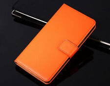 Genuine Leather Wallet Flip Case Cover For Sony Xperia Model