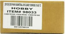 2019/20 PANINI CLEARLY DONRUSS BASKETBALL HOBBY 12-BOX CASE