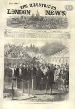 1866 Queen Opening Sluice Of Aberdeen New Water Works