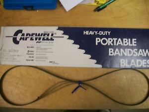 "53-3/4"" 24 TPI Capewell Portaband Bandsaw Blades 3 Pack B5324"