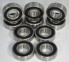 6202-2RS C3 Premium Sealed Ball Bearing, 15x35x11mm (Qty. 10)