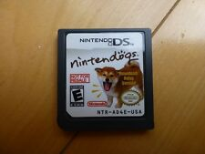 Not For Resale Nintendo DS Ninendogs Download Relay Version Bark Mode Demo