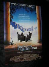 Original PRINCESS BRIDE Rare Australian O/S ANDRE Cary Elwes Robin Wright