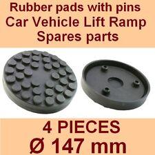 Set de 4 pads Ravaglioli 2 poste voiture ascenseur rampe de levage coussinets en caoutchouc +3 PINS - 147mm-Italie