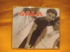 MAXI Single CD GALA Let A Boy Cry 3TR 1997 eurodance