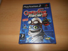 PS2 Crazy Frog Racer 2, UK Pal, New Sony Factory Sealed