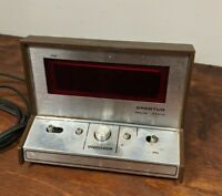 Vintage Spartus Solid State Alarm Clock Model No. 21-3004-500 Works