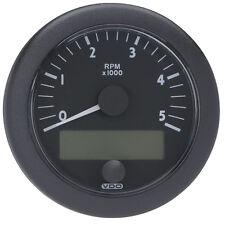 """VDO Ocean Link J1939 5,000 RPM 3-3/8"""" (85mm) - 12/24V Master Tachometer"""