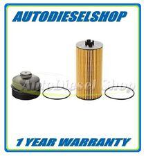 03-10 FORD 6.0L / 6.4L POWERSTROKE DIESEL OEM MOTORCRAFT ENGINE OIL FILTER & CAP
