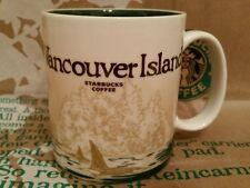 Starbucks Coffee Mug/Tasse/Becher VANCOUVER ISLAND, Global Icon,NEU mit Sticker!