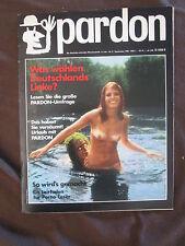 pardon 9 1969 Satire Magazin Olympia Press Pornografie APO Fritz Teufel Wahlen