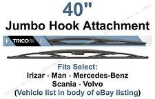 "40"" Heavy Duty Wiper Blade for MAN Lion's City Bus w/16x6 Hook Arms (1pk) 67404"