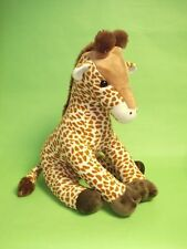 large ark toys giraffe soft cuddly safari animals plush stuffed toy