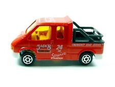 MAJORETTE / Ford Transit (Red) - No packaging.