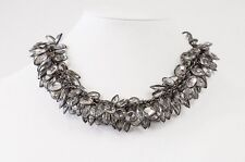 VINTAGE Necklace Choker Deco Influence Faceted Crystal Stunning