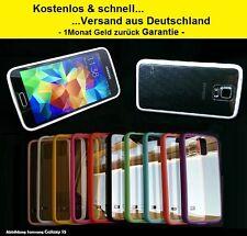 Bumper Case für Samsung Galaxy S4 TPU Hülle Smartphone Handy Schutz Cover