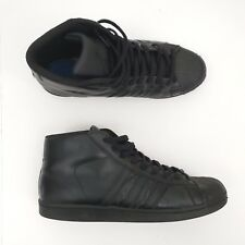 buy popular 21bb2 2d1e5 Adidas Mens Black Pro Model Shell Toe Sneakers S85957  Sz 11.5
