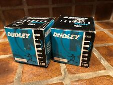 "2 Vintage Dudley Thunder Series 11"" Softball Balls Ws-11 White Heat New In Box"