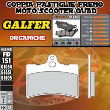 FD151G1054 PASTIGLIE FRENO GALFER ORGANICHE ANTERIORI CAGIVA PRIMA 50 92-