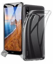 Housse etui coque silicone gel fine Xiaomi Redmi 7A + verre trempe - TRANSPARENT