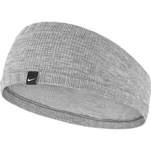 Nike Seamless Headband Dri-Fit | Gray | Knit | Swoosh Dry Elastic