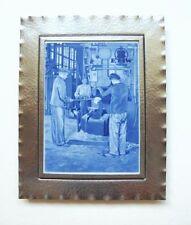 Seltene Meissen Platte im Rahmen EHW Eisen- und Hüttenwerke 1918-1924 B-101