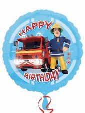 "Fireman Sam Birthday Party Decoration 18"" Happy Birthday Foil Balloon"