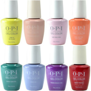 OPI GelColor Gel Polish 15ml - (Sorted A - M) - 345 Colours