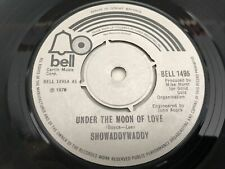 """New listing Showaddywaddy - Under The Moon Of Love 7"""" Vinyl Single Record"""