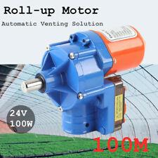 Electric Greenhouse Light Dep Roll Up Motor, 100m Greenhouse Venting Motor Usan