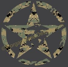 USMC Marine Corps MARPAT Camo Decal Sticker 6""
