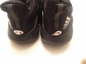 ARIZONA COYOTES Christian Dvorak worn Adidas workout shoes size 11 from 2019-20