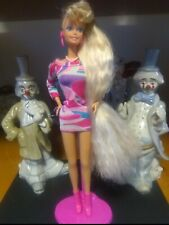 Vintage 1991 Totally Hair Barbie > Original Dress & Jewelry