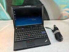 Lenovo X201 Laptop / i5 2.53GHZ / 4GB / Webcam / Battery & AC adapter / Windows
