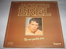 JACQUES BREL COFFRET 3 lp's IMPACT