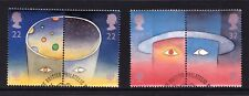 Great Britain 1991 Europe in Space Set of 4 Used